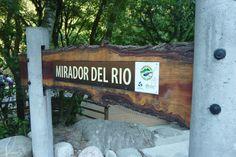 Cartel para el mirador del Parque Los Sosa · Tucuman · Argentina · Sign - park - wood · Cecilia Estrella Design