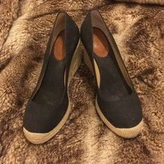 J. Crew Shoes | Nwt Jcrew Seville Espadrille Wedges | Poshmark Caged Sandals, Seville, Warm Weather, J Crew, Espadrilles, Wedges, Heels, Classic, How To Wear