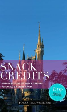 Looking for the best Snack Credits to use in Walt Disney World, Orlando, Florida? Have a look at my extensive and printable guide for Magic Kingdom, Epcot, Animal Kingdom, Hollywood Studios and Disney Springs. Tips and tricks, hints and hacks to get the b