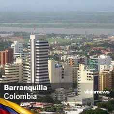 Barranquilla City, Colombia Seattle Skyline, New York Skyline, Colombian Cities, Bali, Country Landscaping, Open Water, Willis Tower, San Francisco Skyline, Skyscraper