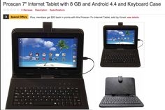 Kmart Deals 7in Proscan Tablet 8gb for a net cost of $29.49  -- a perfect gift!! : #CouponCode, #Coupons, #Kmart, #NationalStores, #StoreCoupons, #Stores Check it out here!!