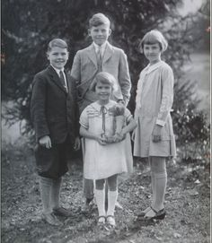 I chose a picture of children in the 1930's. Alexandra takes care of her grandson Francis.