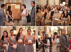bridesmaid dress ideas - style only - should be pink