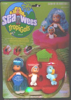 Loved these! I had this one and a green one I think. SO much fun in the bathtub, and unlike Barbie, their hair was okay when you were done. LOL!