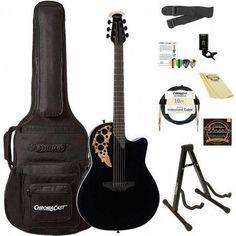 Ovation Ce44-5 Acoustic-electric Guitar Acoustic Electric Guitars Black Online Discount