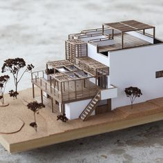maquette architecture Wooden architecture model on Behance Maquette Architecture, Architecture Design, Architecture Model Making, Wooden Architecture, Chinese Architecture, Concept Architecture, Classical Architecture, Miniature Houses, Model Homes