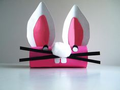 8 silly rabbit paper roll crafts http://hative.com/homemade-animal-toilet-paper-roll-crafts/
