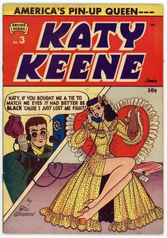 Katy Keene. No. 3 (1951). Bill Woggon.* 1500 free paper dolls at Arielle Gabriels International Paper Doll Society also free paper dolls at The China Adventures of Arielle Gabriel *