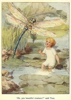 Beautiful Creature    By Margaret Tarrant .    From the book , The Water Babies by Charles Kingsley