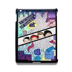 5 Seconds Of Summer Background TATUM-77 Apple Phonecase Cover For Ipad 2/3/4, Ipad Mini 2/3/4, Ipad Air, Ipad Air 2
