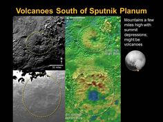 NASA Think They Found Enormous Volcanoes On Pluto's Surface That Spew ICE Instead Of Lava And Ash