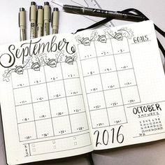 Einfache Organisation des Monats
