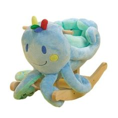 Perfect ride on toy for the nursery on the play side of the room.  Rockabye Ollie Octopus Rocker by Rockabye, http://www.amazon.com/dp/B0010EL1D0/ref=cm_sw_r_pi_dp_4txdrb1YAXT4B