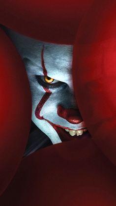 Movie It Chapter Two Pennywise (It) Mobile Wallpaper Black Hd Wallpaper, Joker Iphone Wallpaper, Scary Wallpaper, Deadpool Wallpaper, Halloween Wallpaper Iphone, Clown Horror Movie, It The Clown Movie, Joker Images, Joker Pics