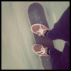 sunday skateboarding in summer