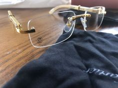 Cartier Glasses for Sale in Los Angeles, CA - OfferUp Cartier Glasses Men, Cartier Sunglasses, Sun View, Rimless Frames, Glasses Frames, Buy Now, Eyeglasses, Eyewear, Jewelry Accessories