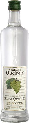 Pisco Santiago Queirolo - 700 ml - Quebranta - PiscoBcn