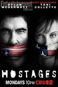 Hostages, moet er nog een beetje aan wennen, maar is wel spannend.