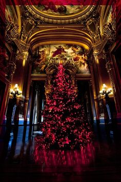 Christmas at the Opera Garnier, Paris