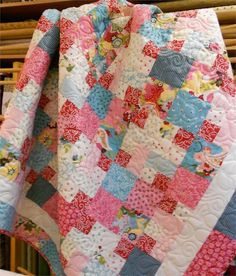 Layer Cake Quilt Patterns Free | Candy Corners Quilt Pattern