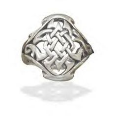 Sterling Silver Celtic Design Ring