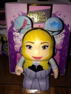 Sleeping Beauty Series CHASER Briar Rose Disney Vinylmation 3'' Figure Disney Vinylmation