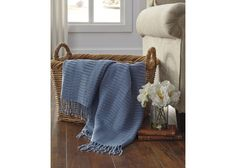 Spring romance make your room bloom! we make beautiful home furnishings affordable A1000617T Mendez ... at http://www.reecefurniture.com/products/a1000617t-mendez-throw-blue?utm_campaign=social_autopilot&utm_source=pin&utm_medium=pin.