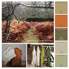 These colours inspire me this Winter! To read more please follow the link. http://janemcintyredesign.com/?p=10271 #paints #colours #inspiration #winchester #Pure & Original Nederland