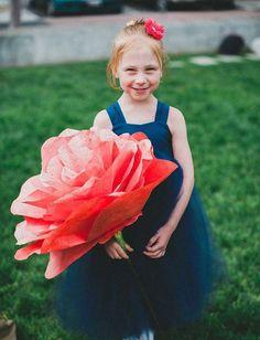 Usted sabe que yo gigante de papel Rose? imagen que la magia como una gran flor es que se introducen en el lindo ♡