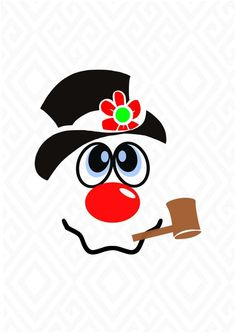 Newest Free Frosty the Snowman svg Style Do you want to always be courting throughout xmas? Like Frosty the Snowman , will you do without cud Snowman Faces, Cute Snowman, Snowman Crafts, Christmas Projects, Holiday Crafts, Snowman Wreath, Christmas Rock, Christmas Shirts, Christmas Snowman