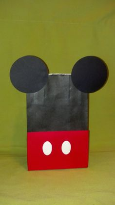 mickey mouse party hats | Mickey Mouse Party Bag-Mickey Mouse Party Bags & Hats. $2.00, via Etsy ...