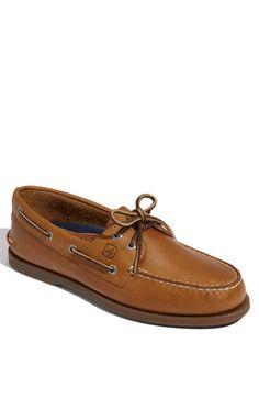 Authentic original boat shoe sperry in sahara