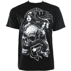 Famous Stars and Straps Venom T Shirt (Black)
