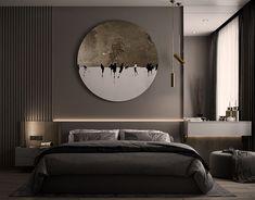 Black Bedroom Design, Bedroom Bed Design, Home Room Design, Home Decor Bedroom, Home Interior Design, Modern Luxury Bedroom, Luxury Dining Room, Luxurious Bedrooms, Modern Master Bedroom