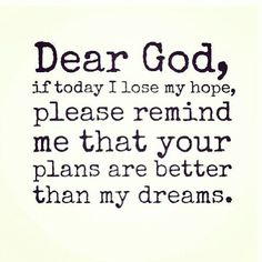 Lord if I loose my faith, you shall help me find it <3