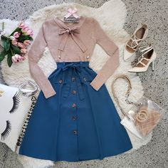 Girls Fashion Clothes, Teen Fashion Outfits, Mode Outfits, Cute Fashion, Modest Fashion, Fashion Dresses, Cute Casual Outfits, Chic Outfits, Pretty Outfits