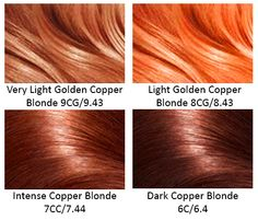 Copper Hair! More