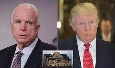 Trump nemesis John McCain admits he gave FBI Trump smear document #DailyMail.... Unbelievable!!