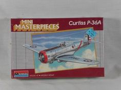 Monogram 1/72nd Curtiss P-36A Hawk kit