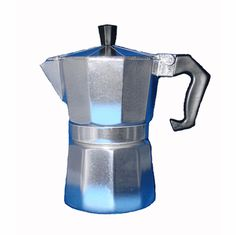 Cafetera De Aluminio Para Cafe Cubano | Buy Aluminum Espresso Maker Online Café Cubano, Electric Coffee Maker, Cuban Coffee, Espresso Coffee, House Made, Kitchenware, Tea Pots, Two By Two, Rude Boy
