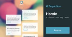 See More Heroic: A Timeline Ghost Blog ThemeWe provide you all shopping site and all informations in our go to store link. You will see low prices on