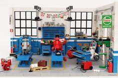 Dream Garage   Officina Super Sprint   Classic Vespa Workshop   by Andrea Lattanzio
