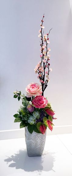 Cute flower arrangement