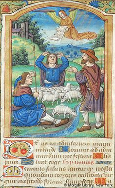 Book of Hours, MS M.1114 fol. 22v - Images from Medieval and Renaissance Manuscripts - The Morgan Library & Museum