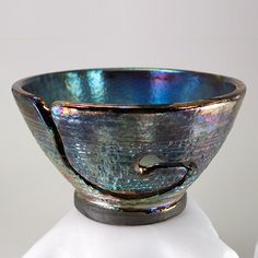 Yarn Bowl Knitting Bowl Ngiceup Handmade Pottery  One by CHpottery, $33.00