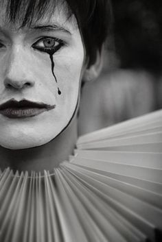 """Mime: circus """"and maybe i can say now, that I've always thought of you,,"""" Fine Art Photography, Portrait Photography, Pierrot Clown, Dark Circus, Le Clown, Send In The Clowns, Circus Performers, Night Circus, Design Inspiration"""