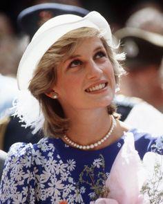 April 11, 1983: Princess Diana in Brisbane, Queensland, Australia