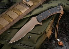 Spartan Ares - Dark Earth & Black Micarta Tactical Fixed Blade $348