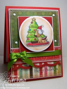 There She Goes Preview: Snowy Days! by Kharmagirl - Cards and Paper Crafts at Splitcoaststampers