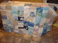 how to make a simple patchwork quilt thanks to Craving Fresh For Anne Walsh!